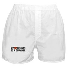 My Heart Belongs to a Drummer Boxer Shorts
