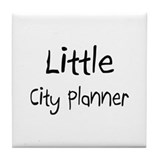 Little City Planner Tile Coaster