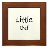 Little Chef Framed Tile