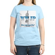 What Would Jesus Play - Trumpet T-Shirt