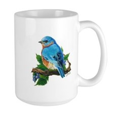 "Mug ""Berry Bluebird"""