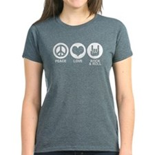 Peace Love Rock and Roll Tee