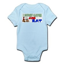 Support catch and eat Onesie