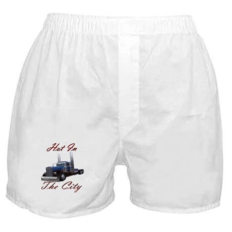 Hot In The City Truckers Boxer Shorts