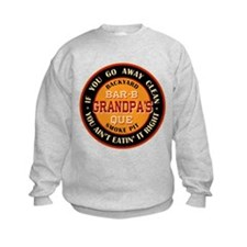 Grandpa's Backyard Bar-b-que Pit Sweatshirt