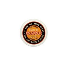 Grandpa's Backyard Bar-b-que Pit Mini Button (100