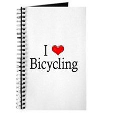 I Heart Bicycling Journal