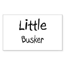Little Busker Rectangle Decal