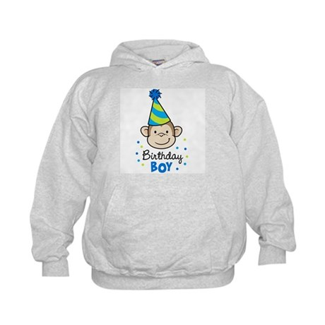 Birthday Boy - Monkey Kids Hoodie