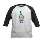 Birthday Boy - Monkey Kids Baseball Jersey
