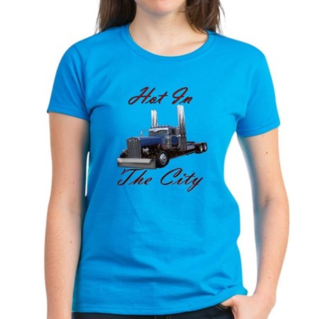 Hot In The City Women's Dark T-Shirt