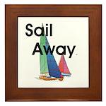 TOP Sail Away Framed Tile