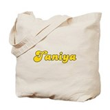 Retro Taniya (Gold) Tote Bag