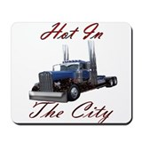 Cute 18 wheeler Mousepad
