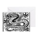 Korean Dragon Greeting Cards (Pk of 20)