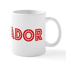 Retro Salvador (Red) Mug