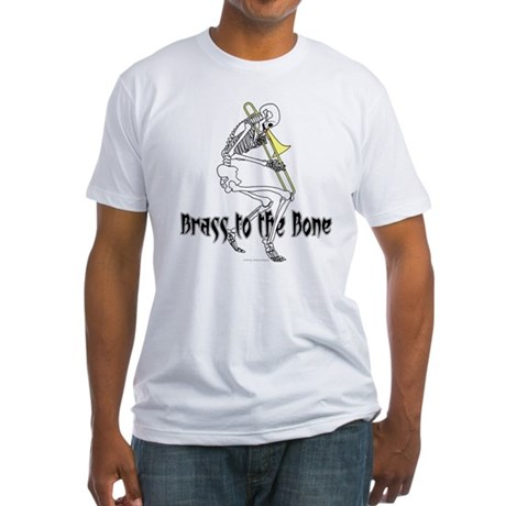 Brass To The Bone Fitted T-Shirt