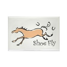 Shoe Fly Rectangle Magnet