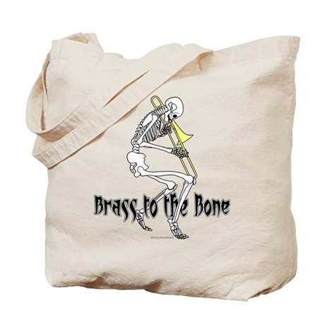 Brass To The Bone Tote Bag