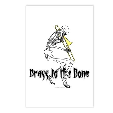 Brass To The Bone Postcards (Package of 8)