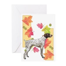 German shorthair sympathy Greeting Cards (Pk of 10