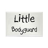 Little Bodyguard Rectangle Magnet (10 pack)
