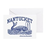 Nantucket Massachusetts Greeting Cards (Pk of 10)