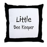 Little Bee Keeper Throw Pillow