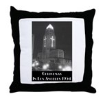 L.A. Christmas Throw Pillow