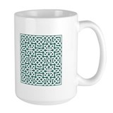 Mug Celtic Knot Green2
