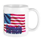 Carmelo USA Flag Gift Small Mug
