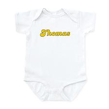 Retro Thomas (Gold) Infant Bodysuit