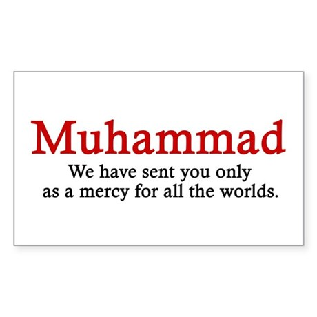 Muhammad Rectangle Sticker