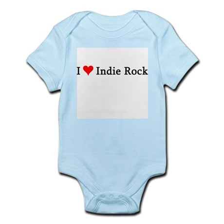 I Love Indie Rock Infant Creeper