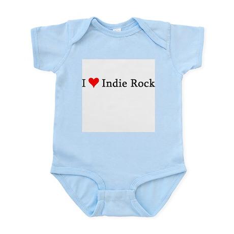 I Love Indie Rock Infant Creeper