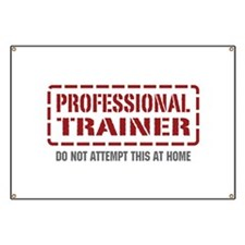 Professional Trainer Banner