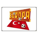 Turkish football Team Banner