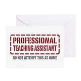Professional Teaching Assistant Greeting Cards (Pk