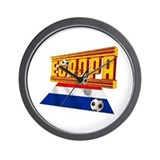 Netherland Total football Wall Clock