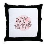90TH BIRTHDAY Throw Pillow