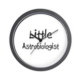 Little Astrobiologist Wall Clock