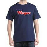 Retro Verger (Red) T-Shirt