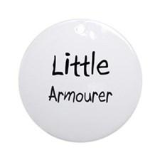 Little Armourer Ornament (Round)