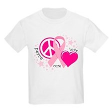BC Peace Love Cure T-Shirt