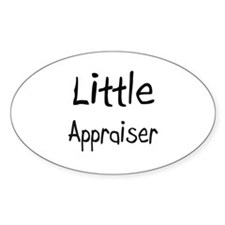 Little Appraiser Oval Decal