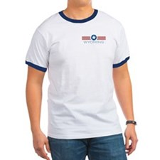 Star Stripes Wyoming T
