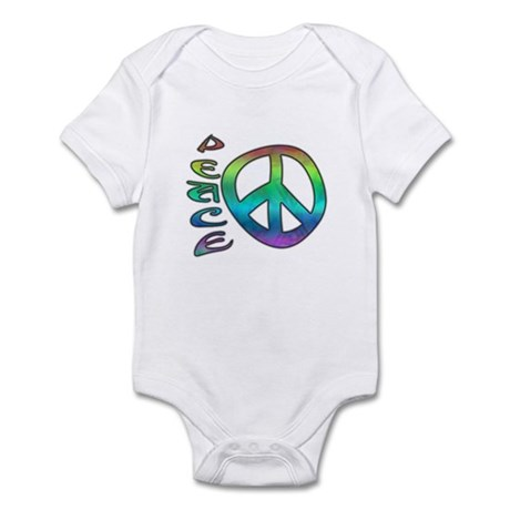 Rainbow Peace Infant Bodysuit