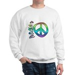 Rainbow Peace Sweatshirt