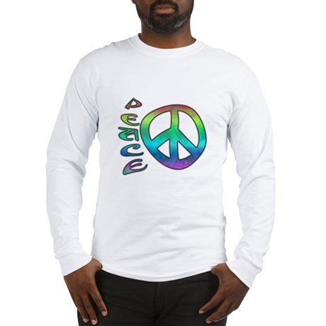 Rainbow Peace Long Sleeve T-Shirt