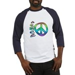 Rainbow Peace Baseball Jersey